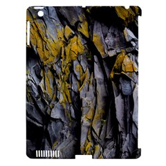 Grey Yellow Stone Apple Ipad 3/4 Hardshell Case (compatible With Smart Cover) by Nexatart