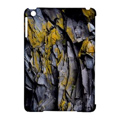 Grey Yellow Stone Apple Ipad Mini Hardshell Case (compatible With Smart Cover) by Nexatart