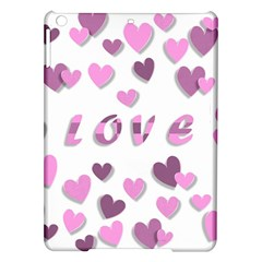 Love Valentine S Day 3d Fabric Ipad Air Hardshell Cases by Nexatart