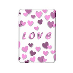 Love Valentine S Day 3d Fabric Ipad Mini 2 Hardshell Cases by Nexatart