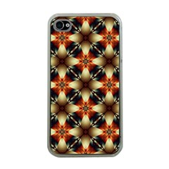 Kaleidoscope Image Background Apple Iphone 4 Case (clear) by Nexatart