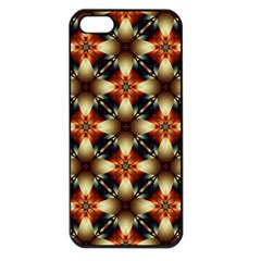 Kaleidoscope Image Background Apple Iphone 5 Seamless Case (black) by Nexatart