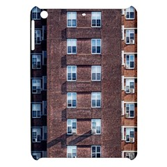 New York Building Windows Manhattan Apple Ipad Mini Hardshell Case by Nexatart
