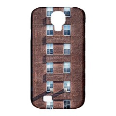 New York Building Windows Manhattan Samsung Galaxy S4 Classic Hardshell Case (pc+silicone) by Nexatart