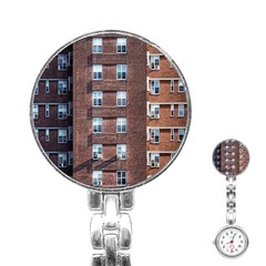 New York Building Windows Manhattan Stainless Steel Nurses Watch