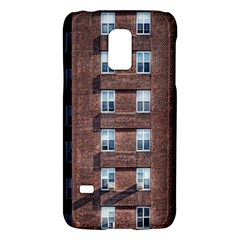 New York Building Windows Manhattan Galaxy S5 Mini by Nexatart