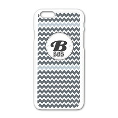 B for Bob Apple iPhone 6/6S White Enamel Case