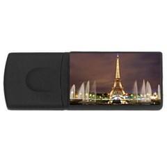 Paris Eiffel Tower Usb Flash Drive Rectangular (4 Gb)