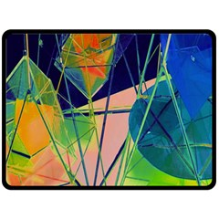 New Form Technology Double Sided Fleece Blanket (large)  by Nexatart