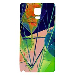 New Form Technology Galaxy Note 4 Back Case by Nexatart