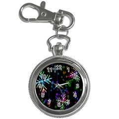 Nowflakes Snow Winter Christmas Key Chain Watches by Nexatart