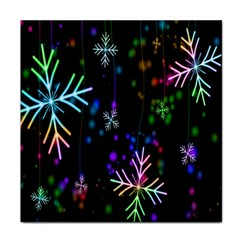 Nowflakes Snow Winter Christmas Face Towel