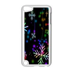 Nowflakes Snow Winter Christmas Apple Ipod Touch 5 Case (white) by Nexatart