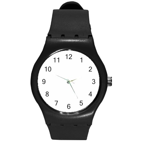 By Feel Good Fashion & Living®   Round Plastic Sport Watch (m)   4d0g4bi8cj7e   Www Artscow Com Front