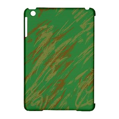 Brown Green Texture                                                 			apple Ipad Mini Hardshell Case (compatible With Smart Cover) by LalyLauraFLM