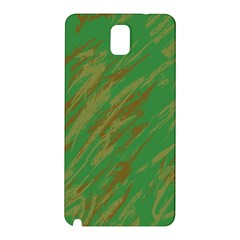Brown Green Texture                                                 			samsung Galaxy Note 3 N9005 Hardshell Back Case by LalyLauraFLM