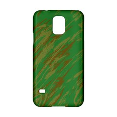 Brown Green Texture                                                 			samsung Galaxy S5 Hardshell Case by LalyLauraFLM