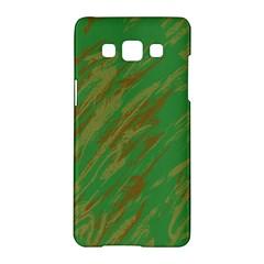 Brown Green Texture                                                 samsung Galaxy A5 Hardshell Case by LalyLauraFLM