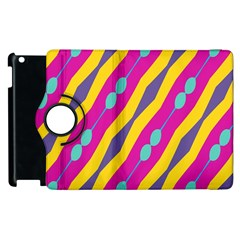 Blue Bead Chains                                                  			apple Ipad 2 Flip 360 Case by LalyLauraFLM