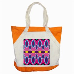 Ovals And Stars                                                    			accent Tote Bag by LalyLauraFLM
