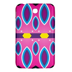 Ovals And Stars                                                   samsung Galaxy Tab 3 (7 ) P3200 Hardshell Case by LalyLauraFLM