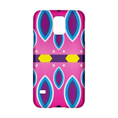 Ovals And Stars                                                   			samsung Galaxy S5 Hardshell Case by LalyLauraFLM