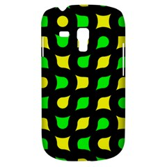 Yellow Green Shapes                                                    			samsung Galaxy S3 Mini I8190 Hardshell Case by LalyLauraFLM