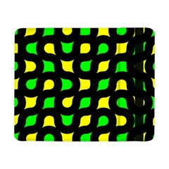 Yellow Green Shapes                                                    			samsung Galaxy Tab Pro 8 4  Flip Case by LalyLauraFLM