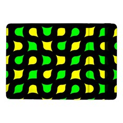 Yellow green shapes                                                    			Samsung Galaxy Tab Pro 10.1  Flip Case by LalyLauraFLM