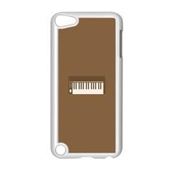 Keyboard Brown Apple Ipod Touch 5 Case (white) by Jojostore