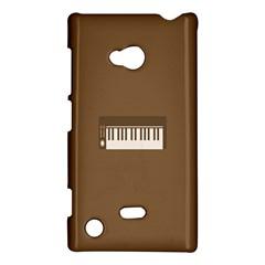 Keyboard Brown Nokia Lumia 720 by Jojostore