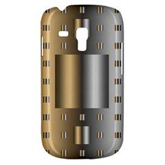 Gold Silver Carpet Galaxy S3 Mini by Jojostore