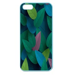 Leaf Rainbow Apple Seamless Iphone 5 Case (color) by Jojostore