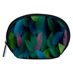 Leaf Rainbow Accessory Pouches (medium)  by Jojostore