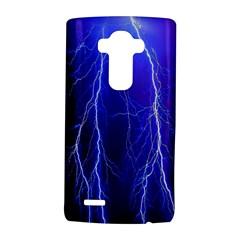 Lightning Electricity Elements Danger Night Lines Patterns Ultra LG G4 Hardshell Case by Jojostore