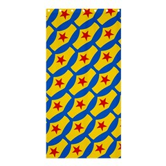 Images Album Heart Frame Star Yellow Blue Red Shower Curtain 36  X 72  (stall)  by Jojostore