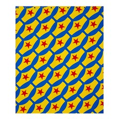 Images Album Heart Frame Star Yellow Blue Red Shower Curtain 60  X 72  (medium)  by Jojostore