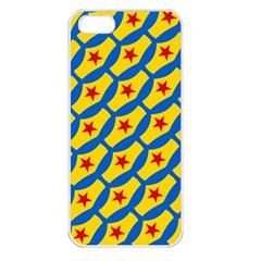 Images Album Heart Frame Star Yellow Blue Red Apple Iphone 5 Seamless Case (white) by Jojostore