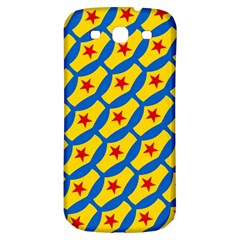 Images Album Heart Frame Star Yellow Blue Red Samsung Galaxy S3 S Iii Classic Hardshell Back Case by Jojostore