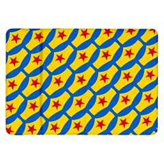 Images Album Heart Frame Star Yellow Blue Red Samsung Galaxy Tab 8 9  P7300 Flip Case by Jojostore