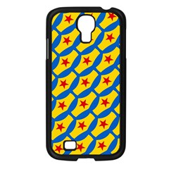 Images Album Heart Frame Star Yellow Blue Red Samsung Galaxy S4 I9500/ I9505 Case (black) by Jojostore