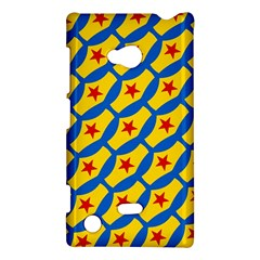 Images Album Heart Frame Star Yellow Blue Red Nokia Lumia 720 by Jojostore