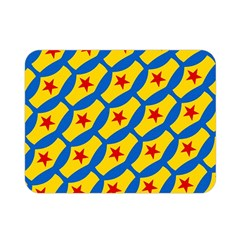 Images Album Heart Frame Star Yellow Blue Red Double Sided Flano Blanket (mini)  by Jojostore