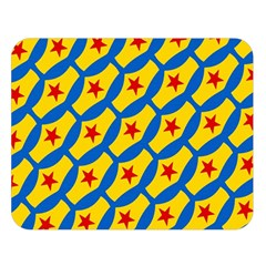 Images Album Heart Frame Star Yellow Blue Red Double Sided Flano Blanket (large)  by Jojostore