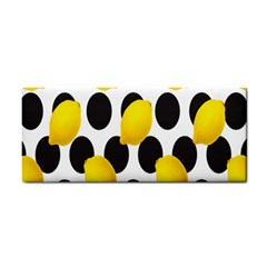 Orange Lime Fruit Yellow Hole Cosmetic Storage Cases by Jojostore