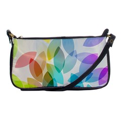 Leaf Rainbow Color Shoulder Clutch Bags by Jojostore