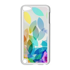 Leaf Rainbow Color Apple Ipod Touch 5 Case (white) by Jojostore