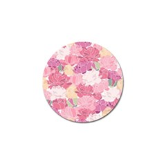 Peonies Flower Floral Roes Pink Flowering Golf Ball Marker (10 Pack) by Jojostore