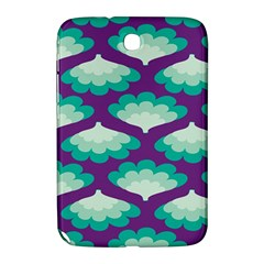 Purple Flower Fan Samsung Galaxy Note 8 0 N5100 Hardshell Case  by Jojostore