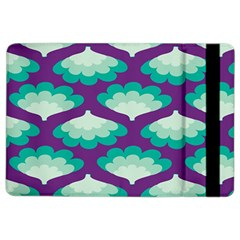 Purple Flower Fan Ipad Air 2 Flip by Jojostore